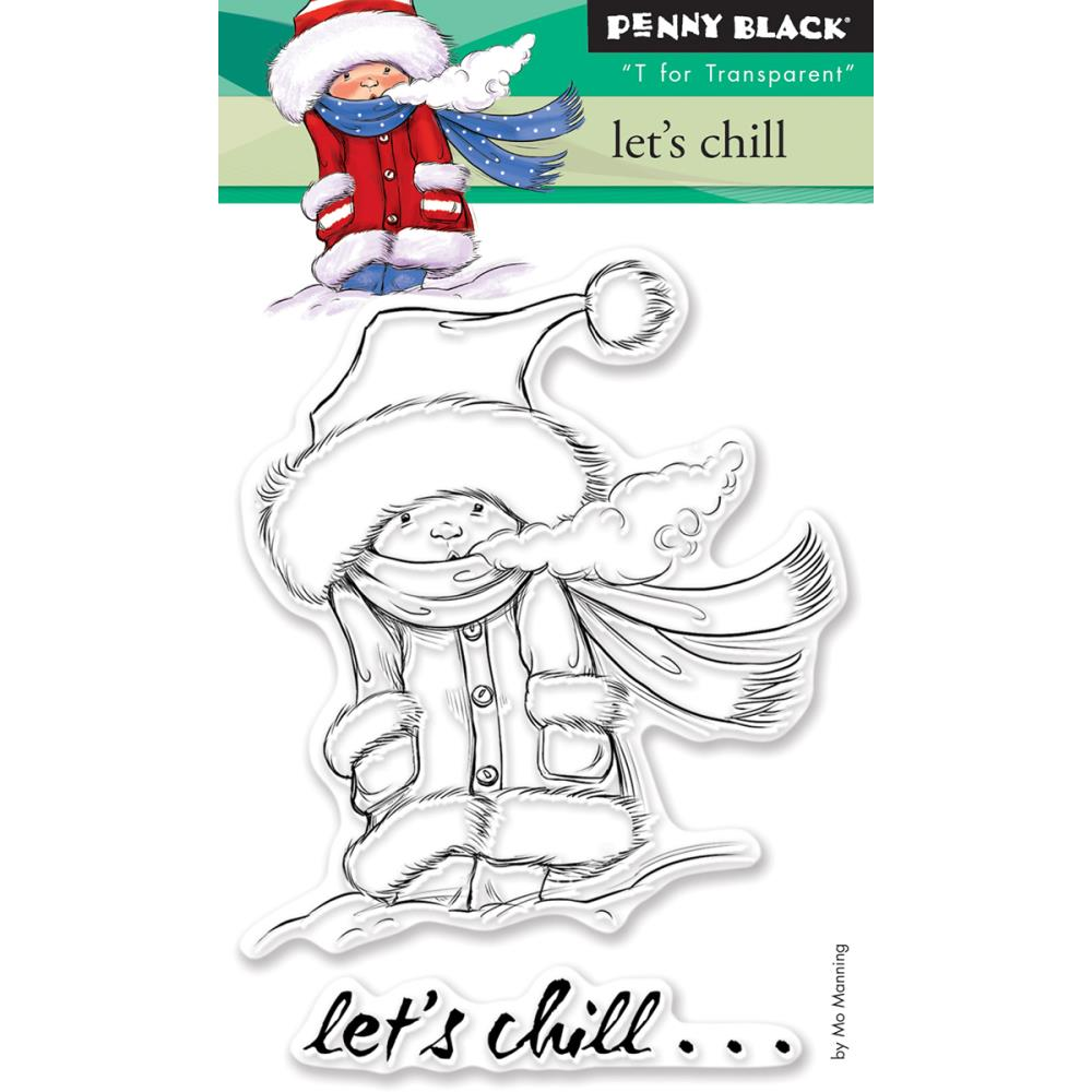 Penny Black Lets Chill Stamps
