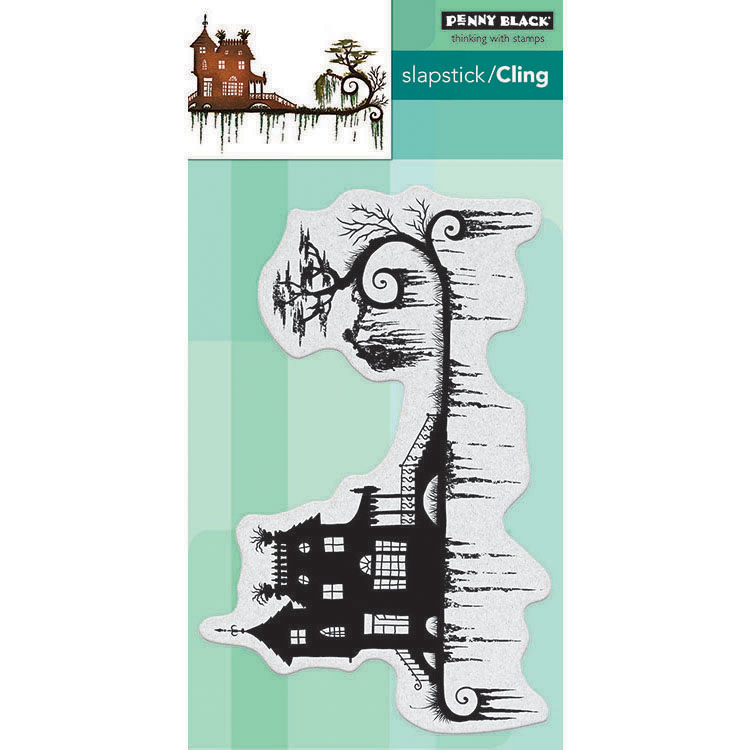 Penny Black Its Halloween Slapstick//Cling Stamps