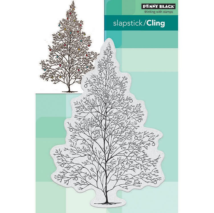 Gray penny black 40-641 Cling Stamp