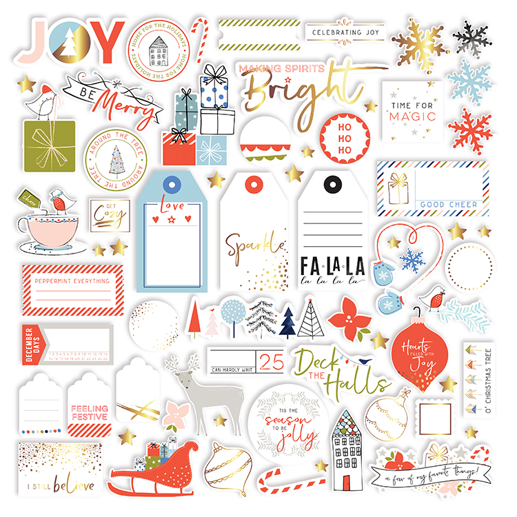 Pinkfresh Studio - December Days Die Cut