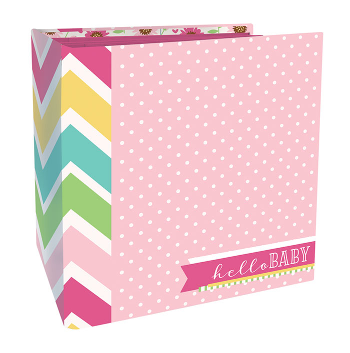 Paper House Productions Baby Girl Flipbook Craftable Interaction Album