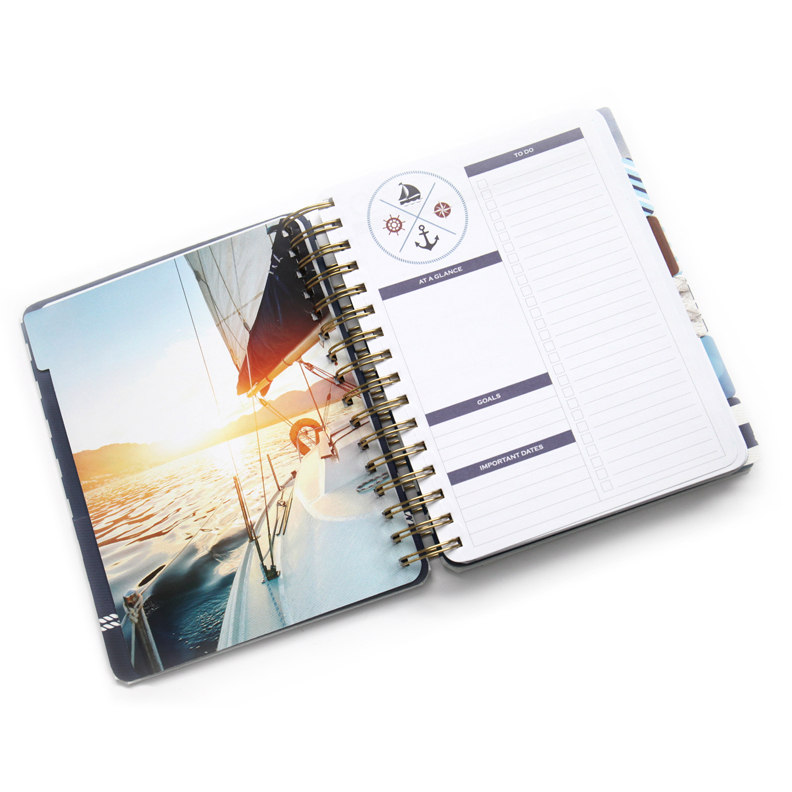 Paper house productions anchors away planner for Paper house planner