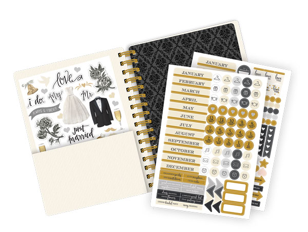 Paper house productions always and forever planner for Paper house planner