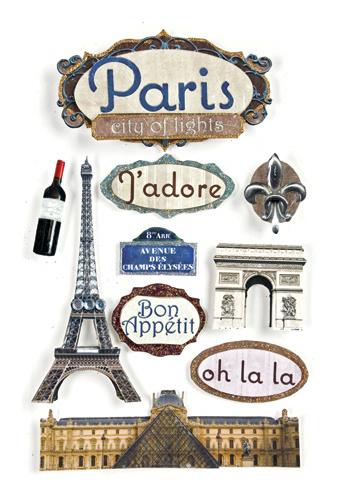 Paper house productions paris collection 3 dimensional - Boutique scrapbooking paris ...