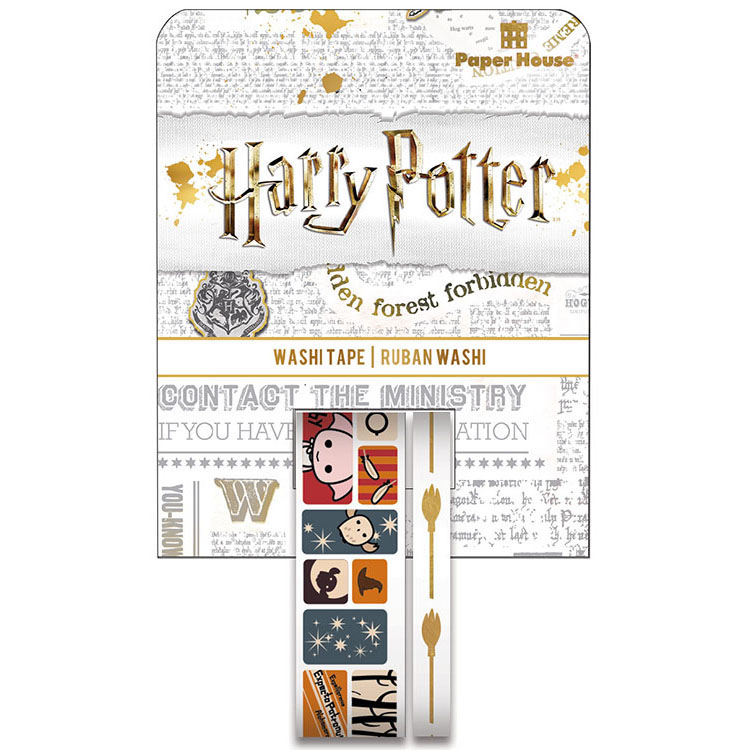 Paper House Productions Harry Potter Chibi Scenes Washi Tape