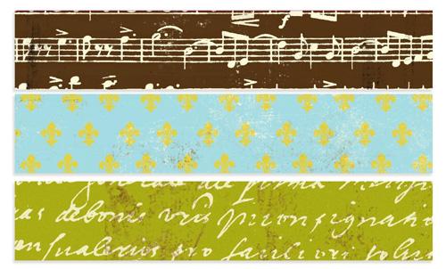 7Gypsies Avignon Paper Tape