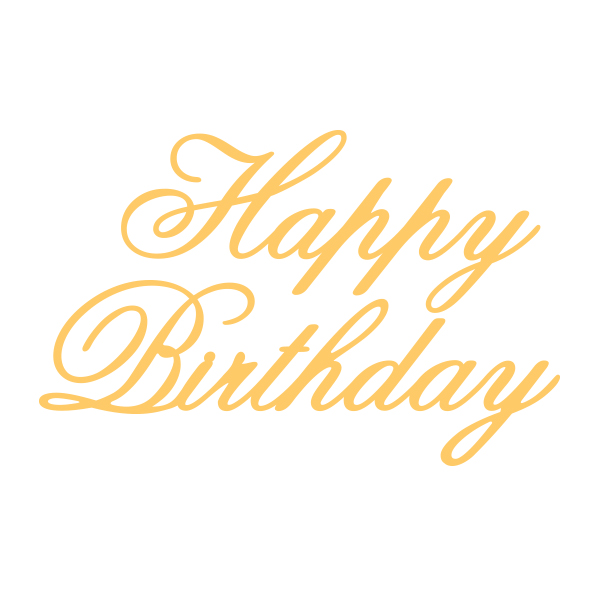 Couture Creations Everyday Happy Birthday Essentials
