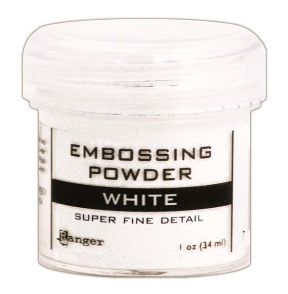 Fine White Embossing Pwd