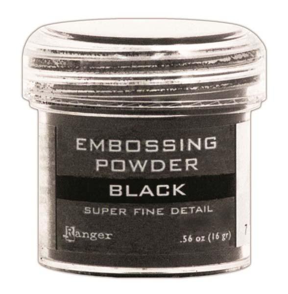 Ranger Ink Super Fine Black Embossing Powder
