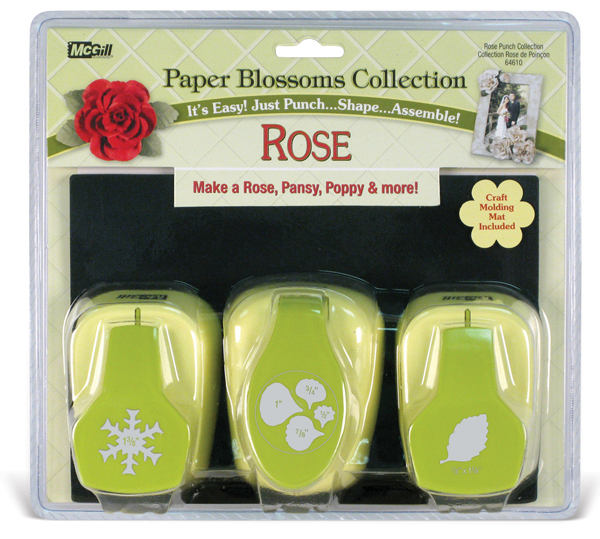 mcgill - paper blossoms collection - paper punch set