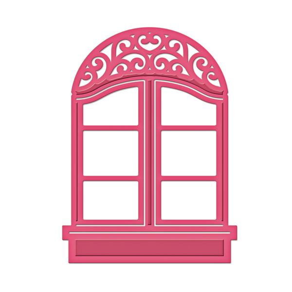 spellbinders shapeabilities d lites window two die. Black Bedroom Furniture Sets. Home Design Ideas