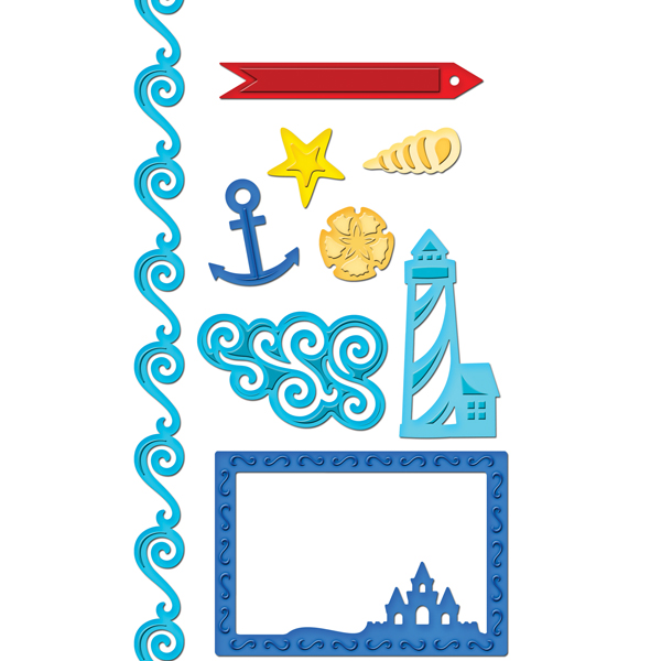 spellbinders shapeabilities collection samantha walker die cutting and embossing templates nautical frames and accents - Nautical Frames