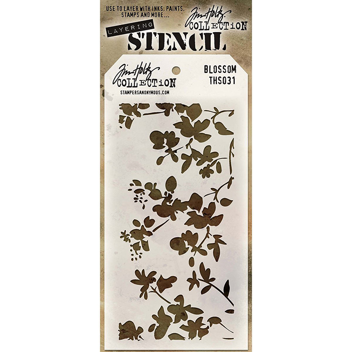 Stencil Tiles Stampers Anonymous Tim Holtz