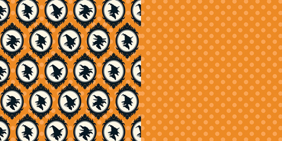 Collins Haunted Hallows Collection Halloween 12 X 12 Double