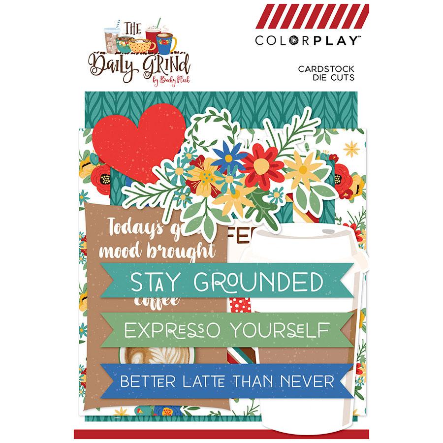 Photoplay Paper DG9116 PhotoPlay Daily Grind Ephemera Cardstock Die-Cuts