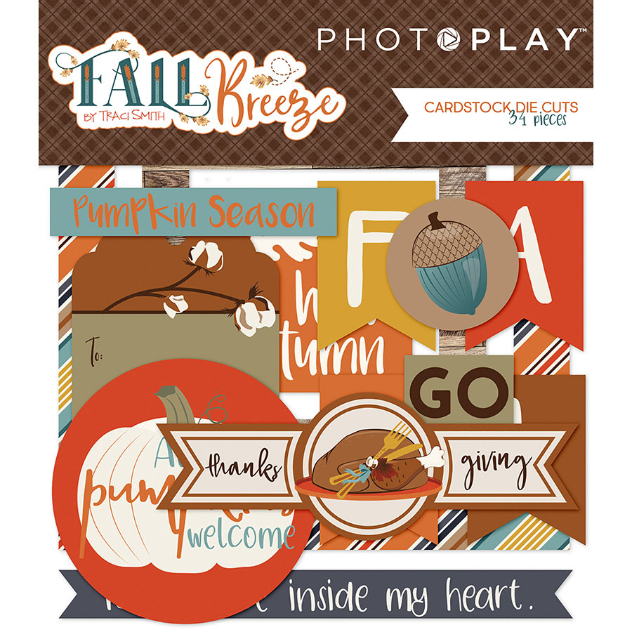 Photo Play Paper Fall Breeze Ephemera