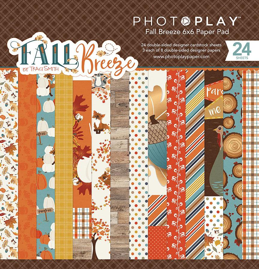Photo Play Paper Fall Breeze 6x6 Paper Pad