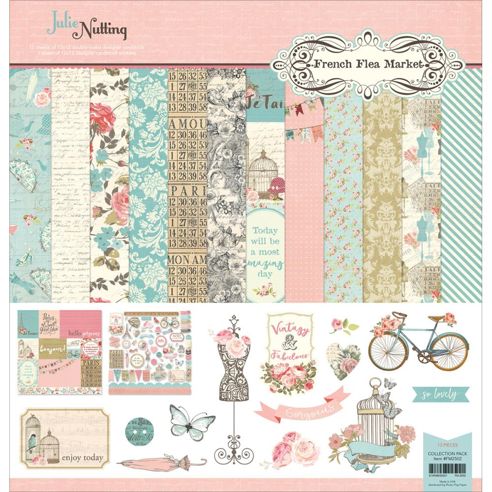 Floral-Themed Paper Crafting Supplies