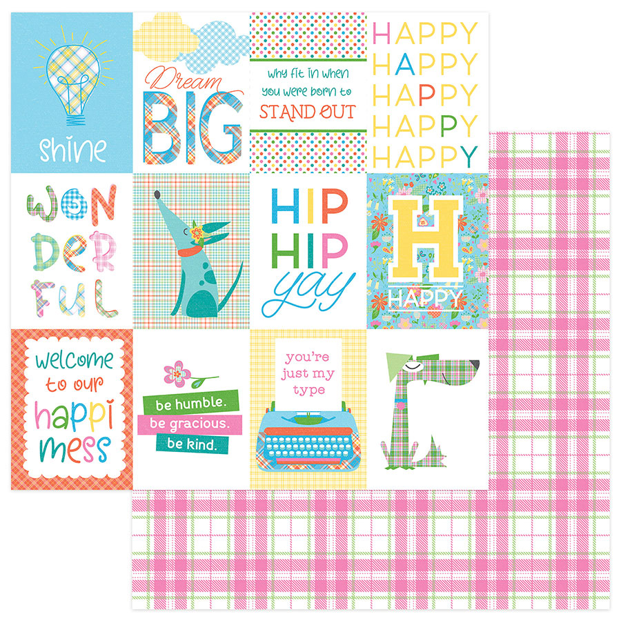 Photo Play Paper Mad For Plaid - Happy Day