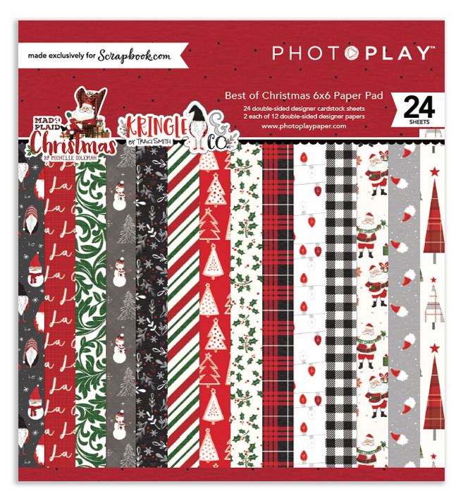 Photo Play Paper Best of Christmas 6x6 in paper pad