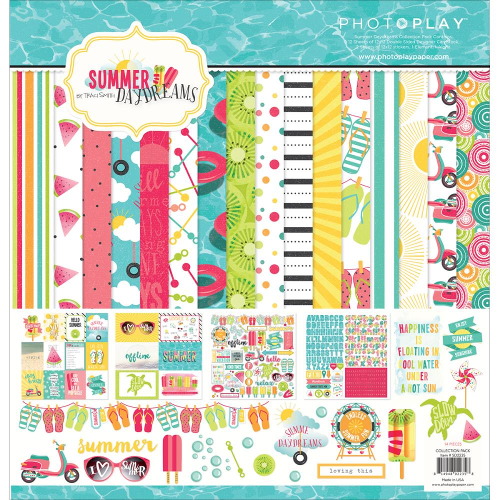 Photo Play Paper Summer Daydreams 12 X 12 Collection Pack