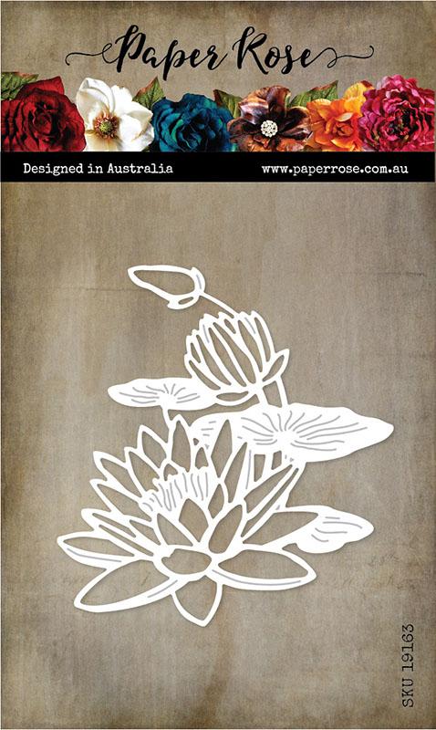 Paper Rose Lotus Bloom die
