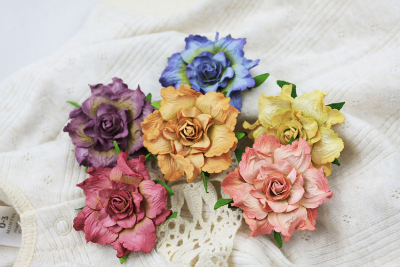 Prima camelot collection flower embellishments vanessa mightylinksfo