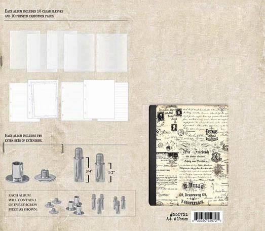 Postbound Scrapbook Album A4