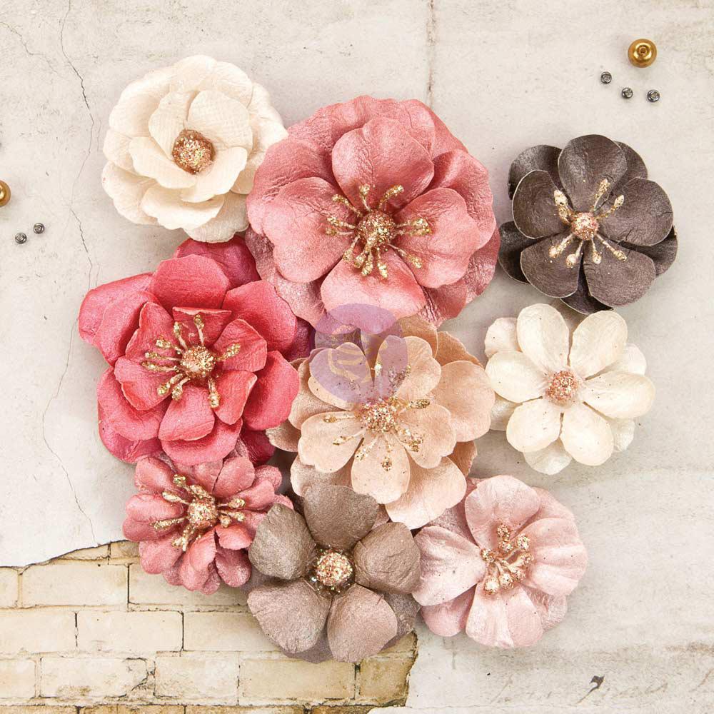Paper flower embellishments ukrandiffusion prima rossibelle harper flower embellishments paper flower embellishments mightylinksfo