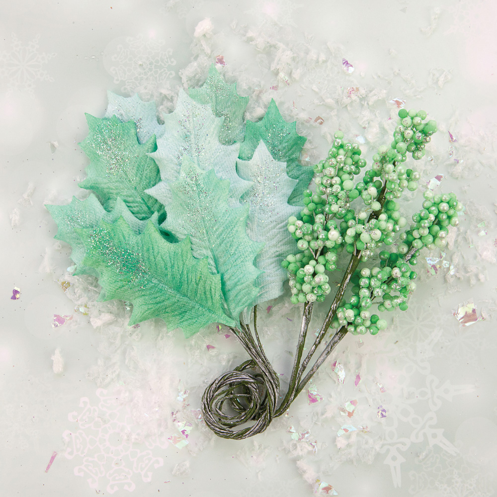 Sweet Peppermint Crafting Flowers Prima Marketing