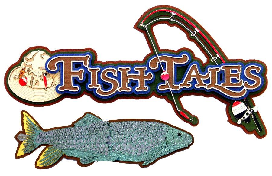 Paper Wizard Die Cuts Fish Tales