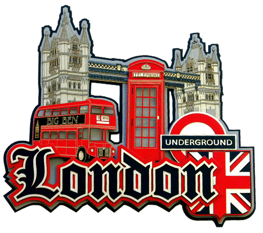 Paper Wizard Die Cuts London Collage