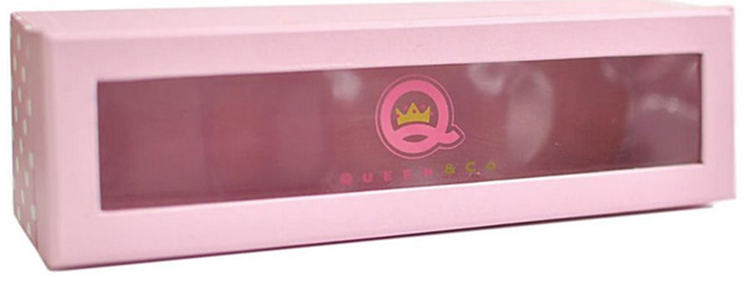 Gentil Queen And Company   Trendy Tape   Storage Box   Pink