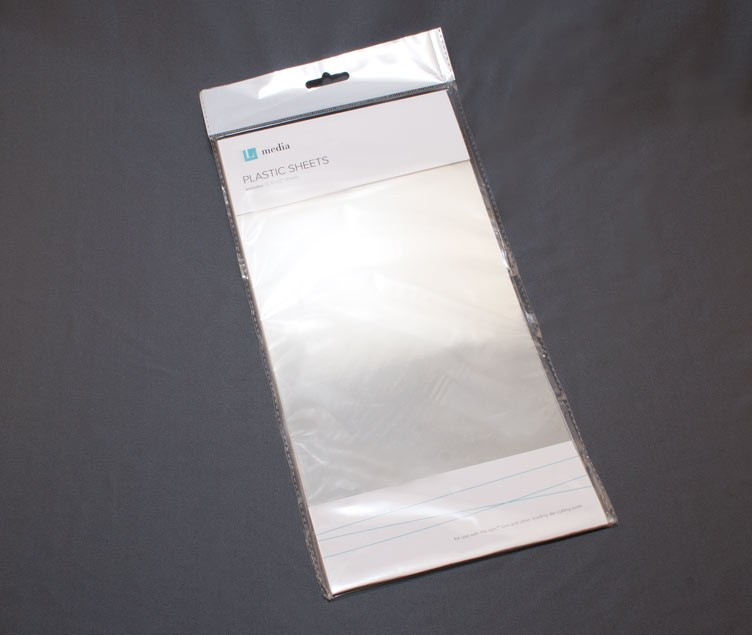 Lifestyle crafts clear plastic sheets for Clear plastic sheets for crafts