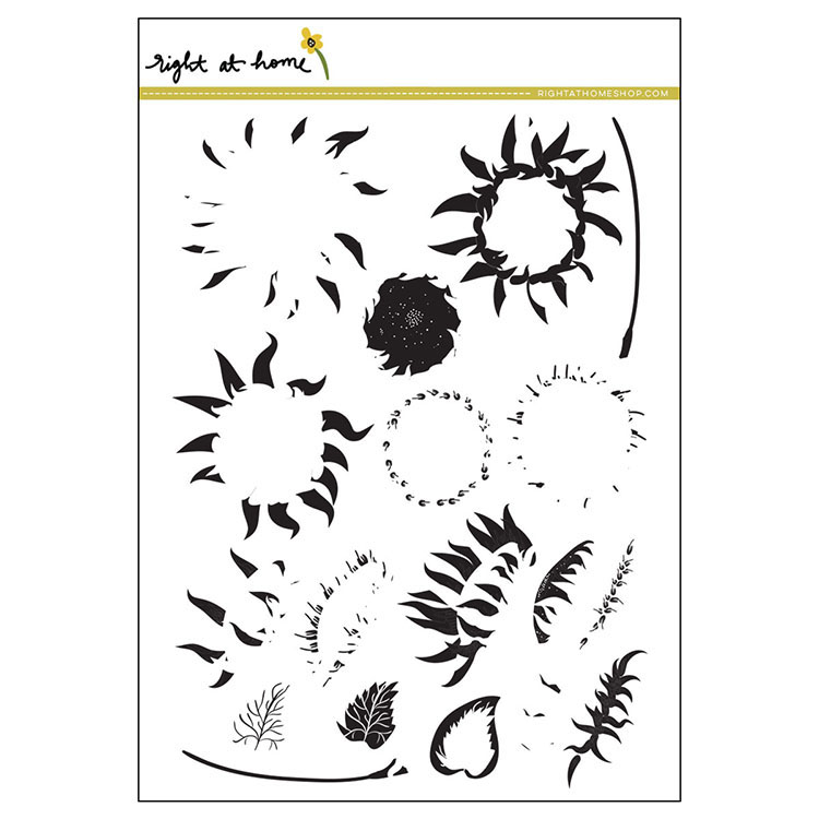 RAH Sunflower Stamps