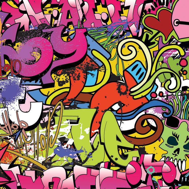 Ella And Viv Paper Company Graffiti Collection  Paper Hip Hop