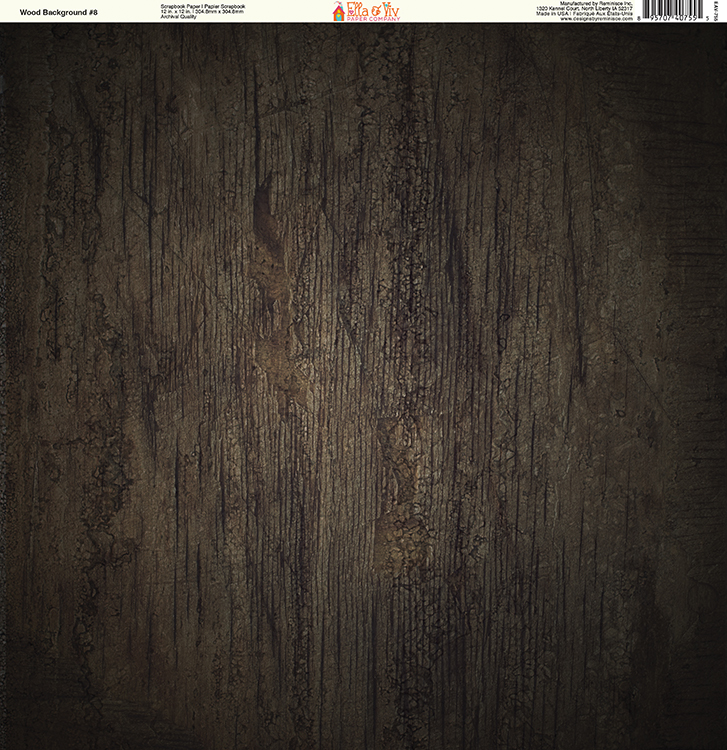 66dadfcb176ac Ella and Viv Paper Company - Wood Backgrounds Collection - 12 x 12 Paper -  Eight
