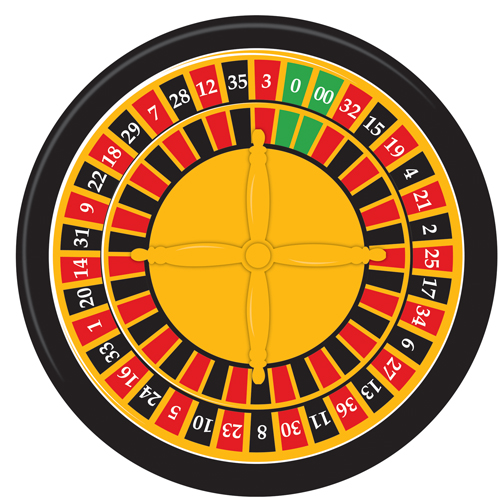 roulette wheel betting layout
