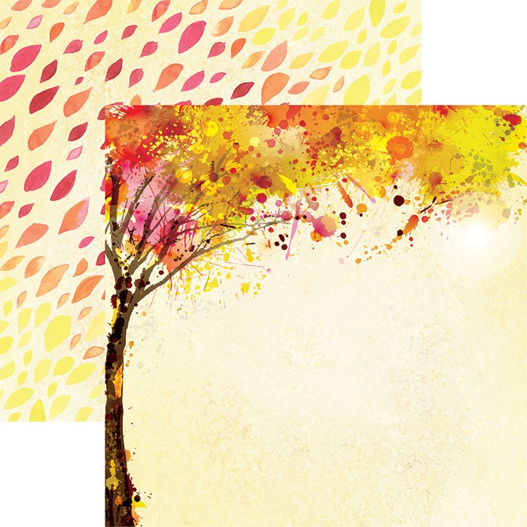 """/""""Autumn Enchantment/"""" 12x12 Double-Sided Paper Reminisce"""