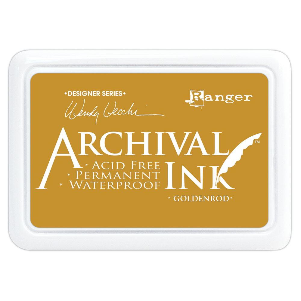 Wendy Vecchi Archival Ink Pad - Goldenrod