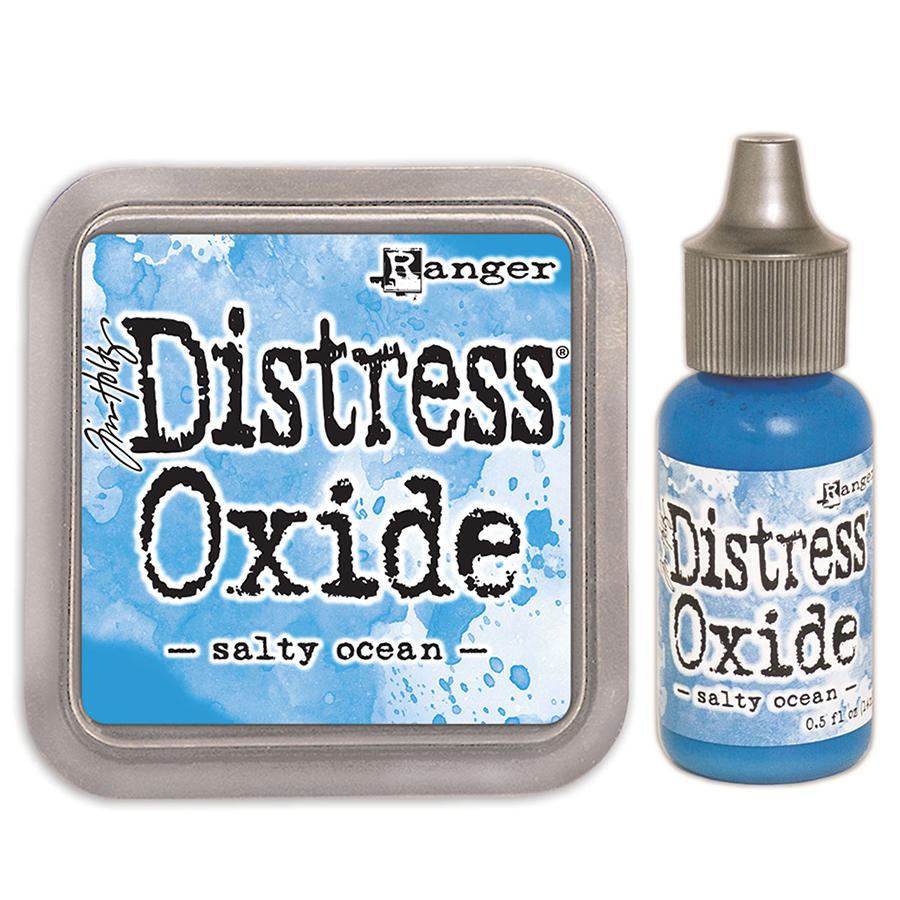 Ranger Tim Holtz Distress Oxides Ink Pads Salty Ocean
