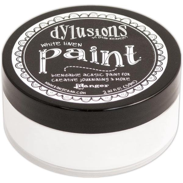 Dina Wakley Dylusions Paint - White Linen
