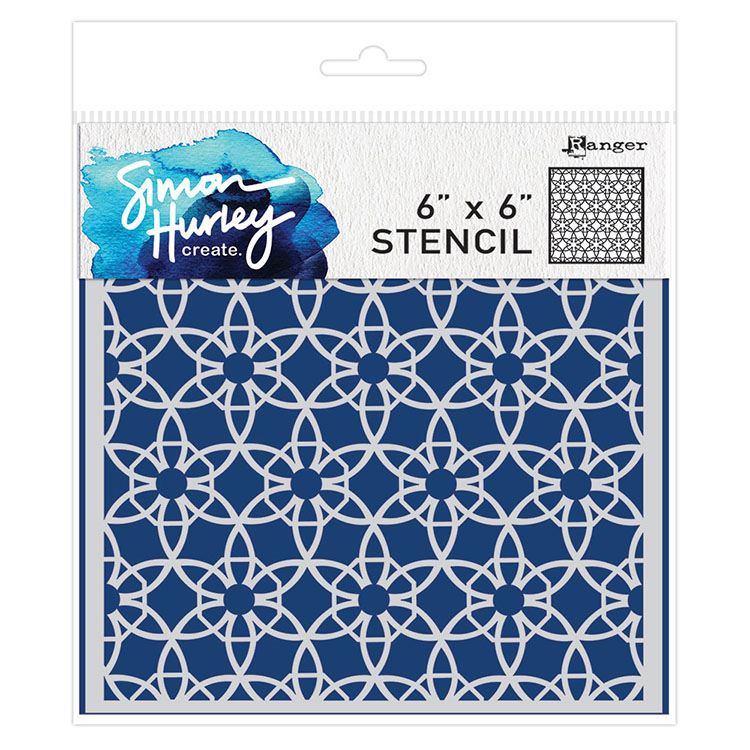 Simon Hurley Stencil - Back Splash