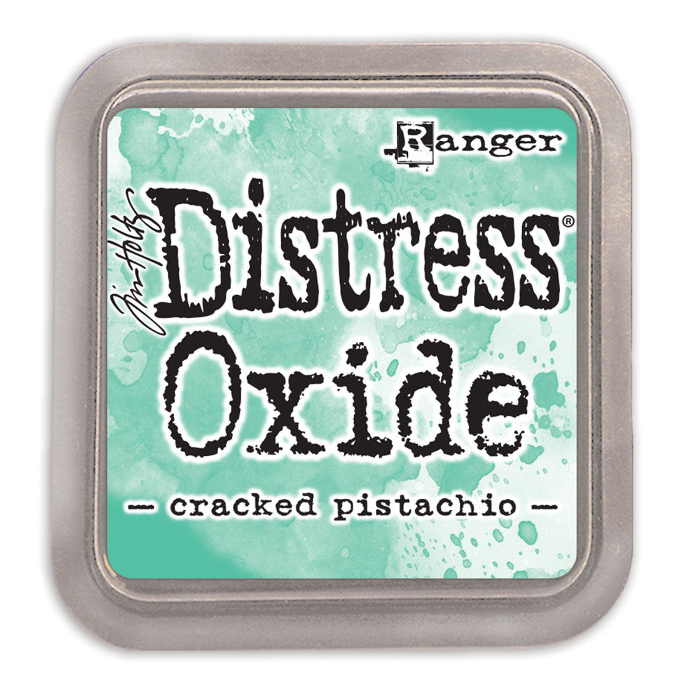How to scrapbook a holiday - Sale Ranger Ink Tim Holtz Distress Oxides Ink Pads Cracked Pistachio