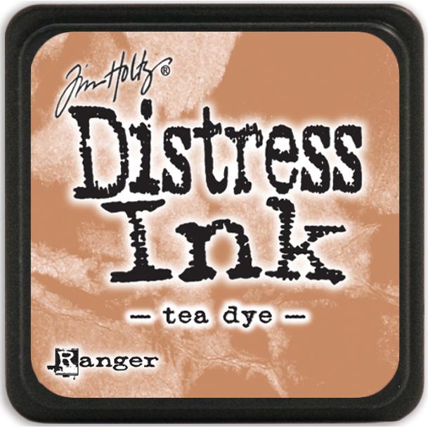 Distress Mini Ink Pad-Antique Linen