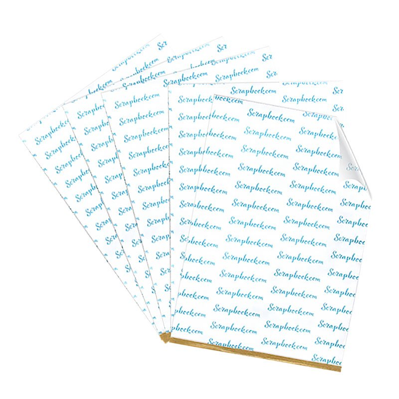 Scrapbook.com Double Sided Adhesives Sheets 6 x 8.5 inch