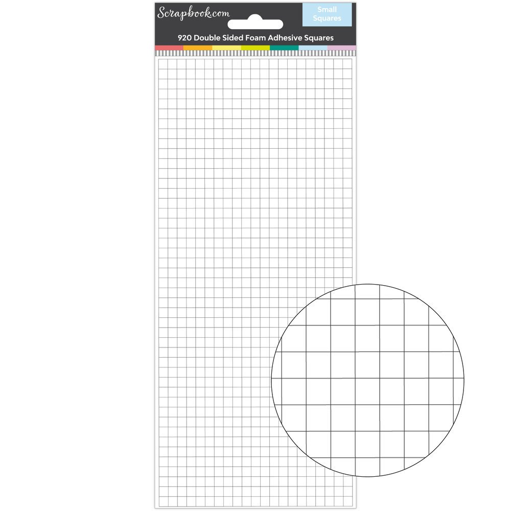 Exclusive Scrapbook.com Double Sided Adhesive Small Foam Squares