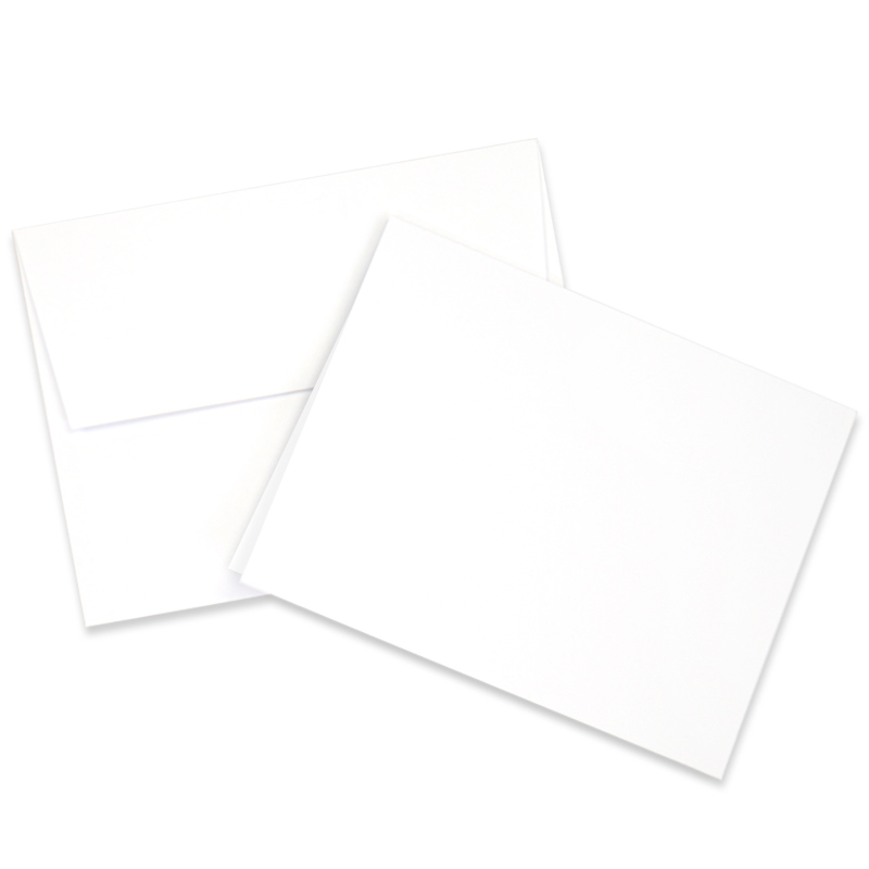 Neenah Solar White 25 pk Card/Envelope Set A2