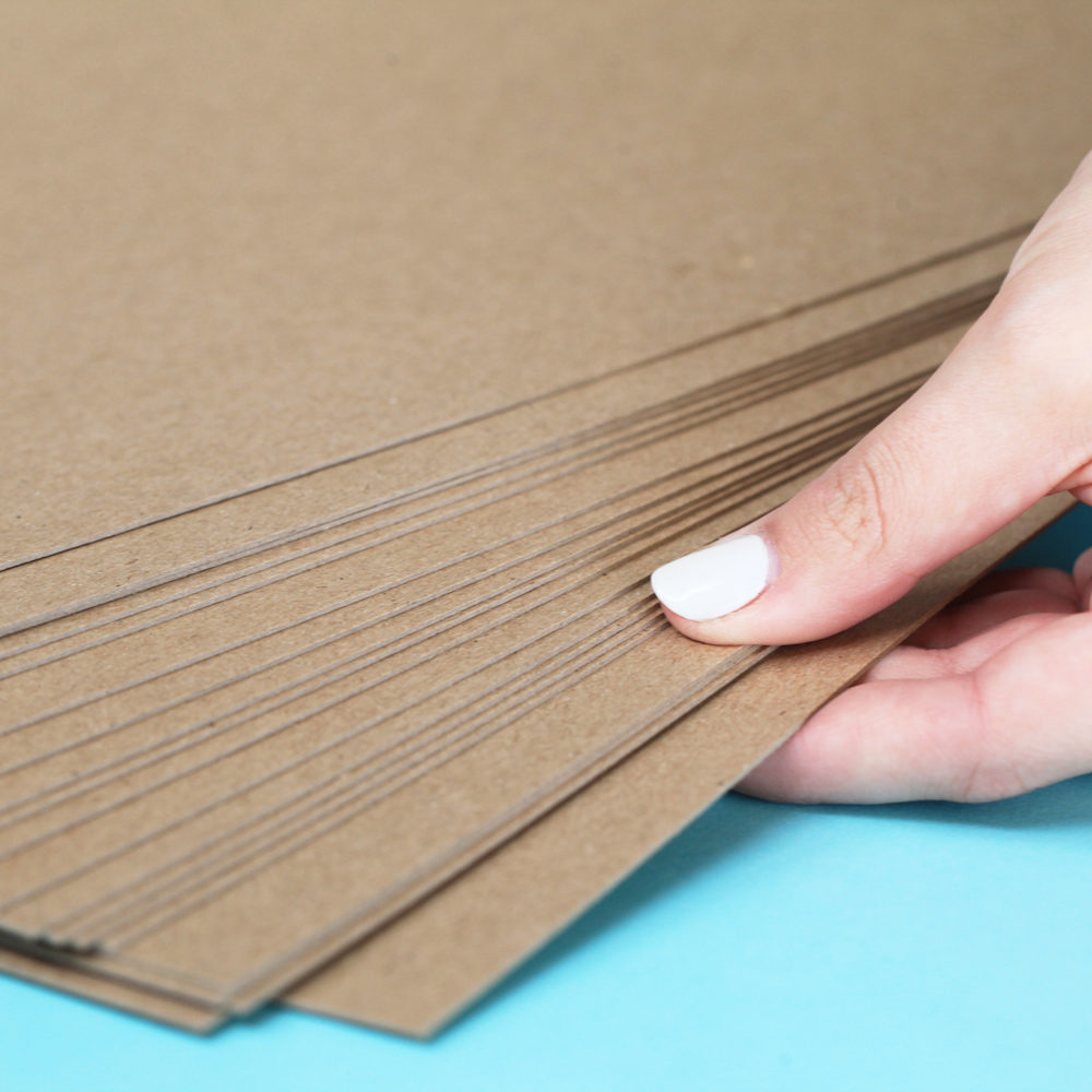 8 5 X 14 Inch Thin Chipboard Pack 20 Sheets