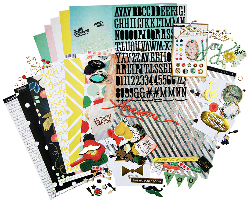 Scrapbook Kit Club Together Is My Favorite Place